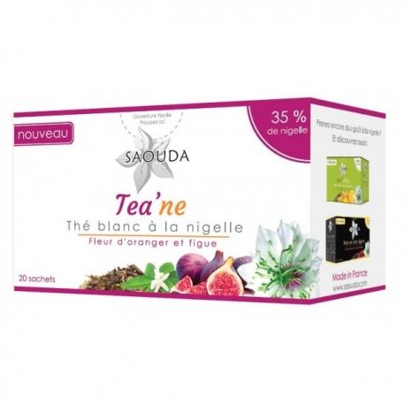 Infusion thé blanc à la nigelle