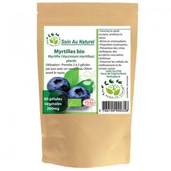 Gélules de Myrtille