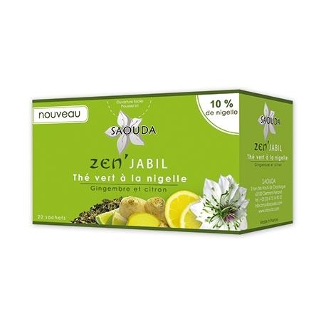 Infusion thé vert à la nigelle