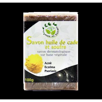 Savon à l'huile de Cade et de Souffre
