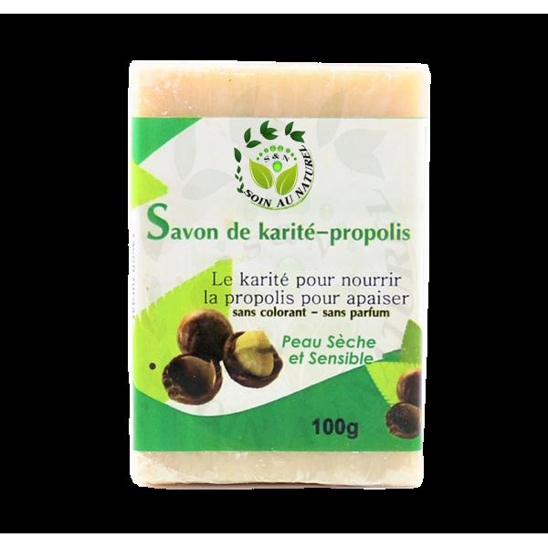 Savon beurre de Karité et Propolis
